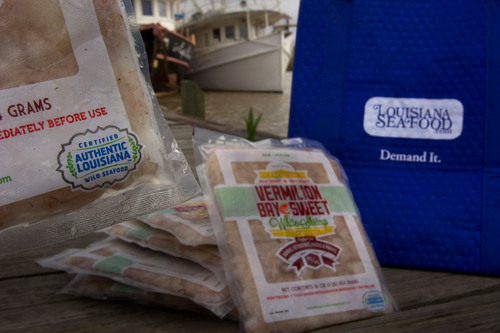 "Consumers Guaranteed Louisiana Gulf-Caught, Landed and Processed Seafood with ""Certified Authentic ..."