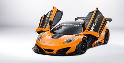 McLaren 12C Can-Am Edition racing concept makes debut at Pebble Beach Concours d' Elegance this weekend.  (PRNewsFoto/McLaren Automotive)