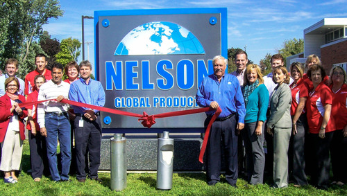 In dedicating its new global headquarters campus...Nelson Global Products Re-Commits To Customer