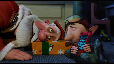 "Golden Globe Nominee ARTHUR CHRISTMAS: The 3D, CG-animated family comedy Arthur Christmas at last reveals the incredible, never-before-seen answer to every child's question: ""So how does Santa deliver all those presents in one night?""   (PRNewsFoto/Sony Pictures Animation)"
