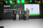 Deloitte Technology Fast 50 india 2016 Winner (PRNewsFoto/FuGenX Technologies Pvt Ltd)