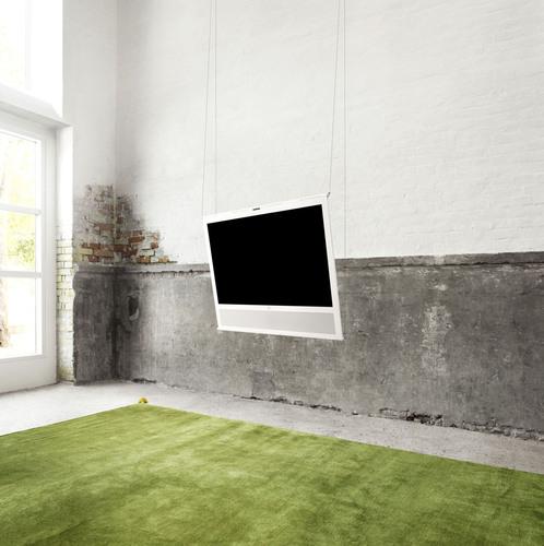B&O PLAY's first tv, the all new BeoPlay V1.  (PRNewsFoto/Bang & Olufsen/B&O PLAY)