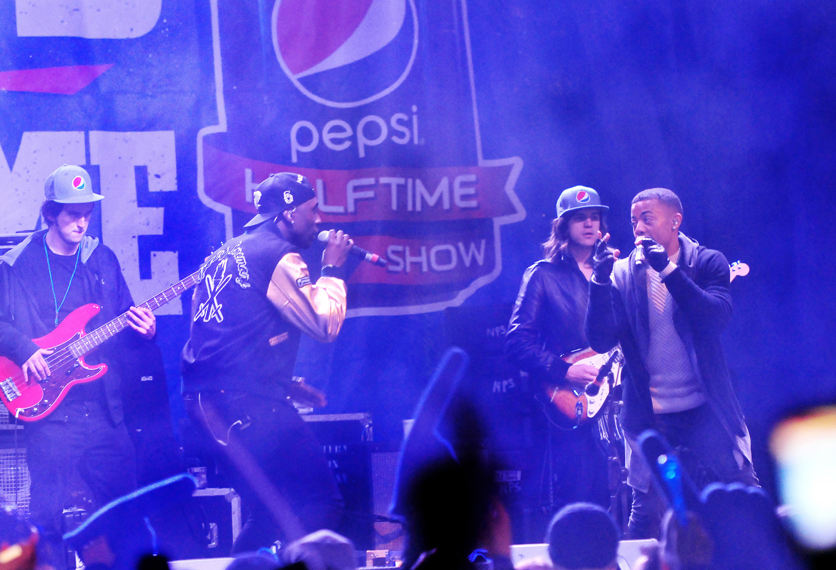 """Nico & Vinz brought the magic of a Pepsi Super Bowl Halftime Show to Rochester, New York, the most hyped hometown in America, as part of Pepsi's """"Hyped for Halftime"""" campaign."""