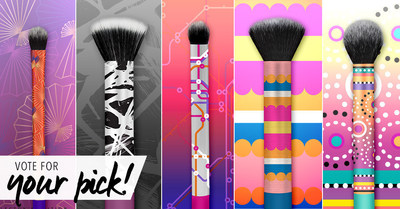 Real Techniques(R) Calls All Fans to Select Design for Limited Edition Makeup Brush Set