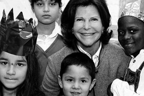 H.M. Queen Silvia's 70th birthday (PRNewsFoto/Care About the Children)