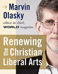 Marvin Olasky, one of the nation's foremost evangelical thinkers and writers, according to American.com, will visit George Fox on Sept. 13.  (PRNewsFoto/George Fox University)