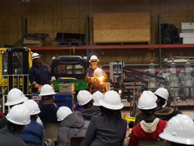 DTE Energy's 2015 Careers in Energy Week tour