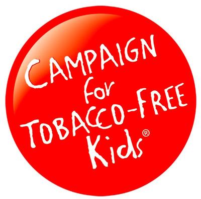 Campaign for Tobacco-Free Kids logo. (PRNewsFoto/Campaign for Tobacco-Free Kids) (PRNewsFoto/)
