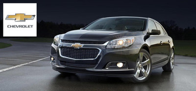 Chevrolet of Naperville welcomes the 2015 models of the Chevy Cruze, Chevy Malibu and Chevy Impala to the Naperville area dealership's showroom. (PRNewsFoto/Chevrolet of Naperville)