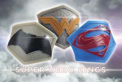 Available for a Limited Time Only with Purchase of a Super-Hero Inspired Creation