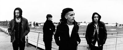 Breakthrough British band The 1975 are set to headline 'Bushmills Live' festival at the Old Bushmills Distillery on Ireland's north coast on June 12, 2014. Whiskey and music fans can win the chance to attend the festival by entering a draw at www.facebook.com/bushmills. Entries open on Monday, March 17 (St Patrick's Day) at 16:08 GMT. (PRNewsFoto/Bushmills Irish Whiskey)