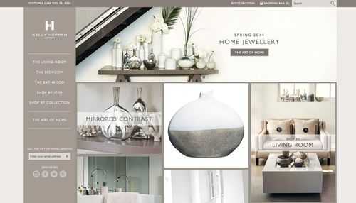 Celebrity Interior Designer, Kelly Hoppen MBE, Launches Inspiration-Oriented Online Store, The Art of Home (PRNewsFoto/Folk)