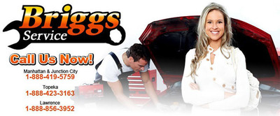 Briggs Auto Group now offers auto service and repair every day of the week at the Briggs Express Service location in Manhattan.  (PRNewsFoto/Briggs Auto Group)