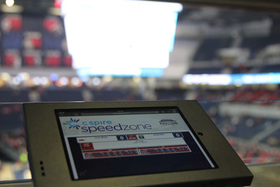 University of Mississippi students now have a high-tech hangout inside the school's new $96.5 million multipurpose arena where they can get free, ultra high-speed WiFi Internet access courtesy of C Spire, a Mississippi-based diversified telecommunications and technology services company.  The Speedzone, which is open 7 a.m. to 9 p.m. and on game days, offers Internet access speeds up to three times faster than similar connections on campus.