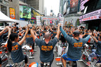 Cycle for Survival Fights Rare Cancers at Times Square Takeover
