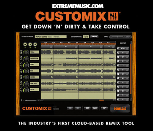 Extreme Music Launches Customix