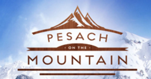Pesach on the Mountain logo.  (PRNewsFoto/Pesach on the Mountain)