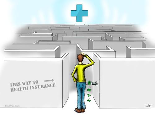This way to Health Insurance (www.healthpocket.com).  (PRNewsFoto/HealthPocket)