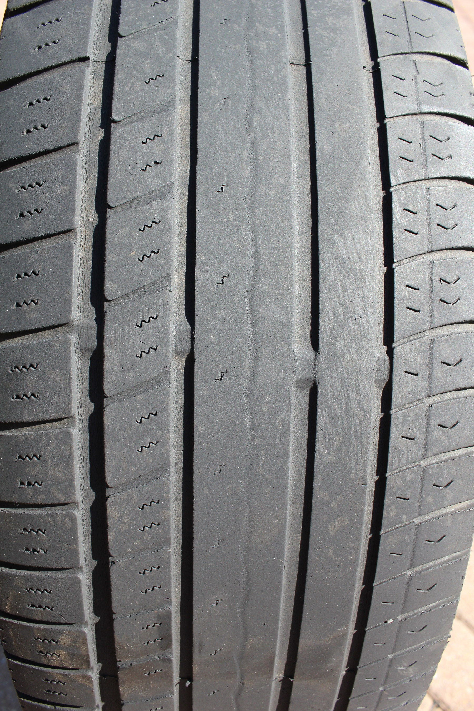 Bald Tire Picture