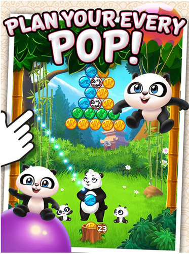 Panda Pop - a new, free-to-play mobile game from leading developer SGN - is now available for iOS!. (PRNewsFoto/SGN) (PRNewsFoto/SGN)