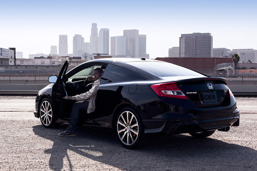 Honda Taps into Millennial Mindset with 'Best Yourself' Civic Campaign Featuring Nick Cannon. (PRNewsFoto/American Honda Motor Co., Inc.) (PRNewsFoto/AMERICAN HONDA MOTOR CO., INC.)