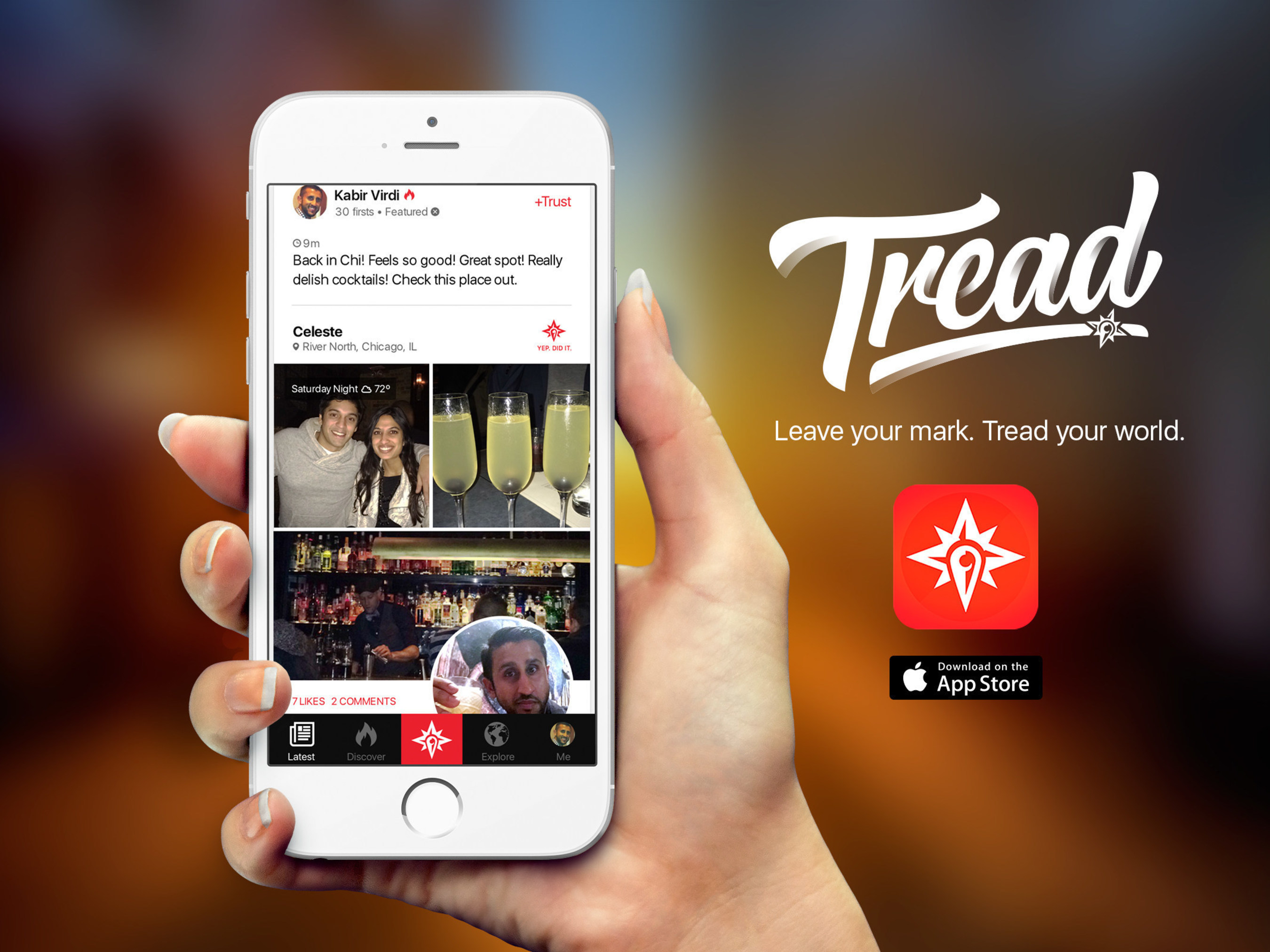 Tread, An App that Revolutionizes Standard Review Sites, Launches for iOS