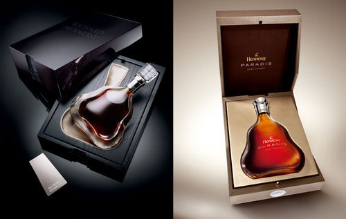 San Francisco World Spirits Competition Gold winner Hennessy Richard and Double Gold winner Hennessy Paradis.  (PRNewsFoto/Hennessy)