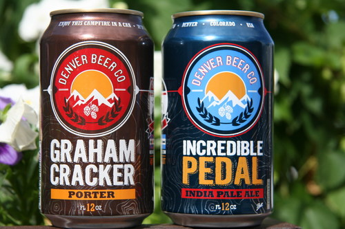 Denver Beer Co. is releasing two of its most popular brews in 12-ounce cans from Ball Corporation. Each can will feature one of 24 distinct GPS coordinates as part of DBC's Explorer Challenge. Grand prize: Free Denver Beer Co. beer for one year. (PRNewsFoto/Ball Corporation)