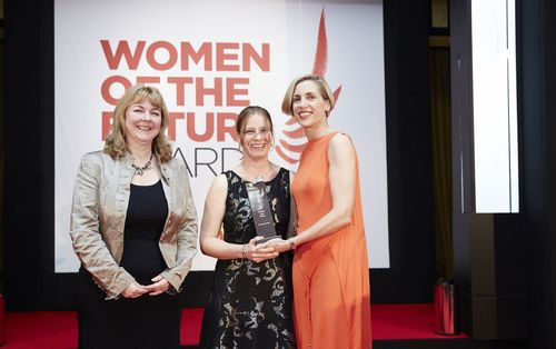 Chemring Group Project Manager Wins Women of the Future Award (PRNewsFoto/Chemring Group)