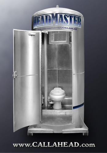 Porta Potty Company, CALLAHEAD, Unveils First Gravity-Fed, Aluminum Body Portable Toilet in the