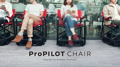 Nissan Develops an Autonomous Chair for People Who Can't Stand Queuing