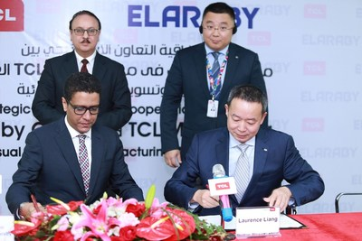MOU signing between TCL and ELARABY