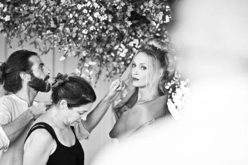 Campari Calendar 2014 – Worldwide Celebration. Star: Uma Thurman. Photographer: Koto Bolofo. Behind the scenes ...