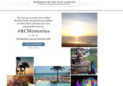 #RCMemories (PRNewsFoto/The Ritz-Carlton Hotel Company)