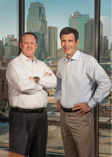 President and Chief Operating Officer Chris Egan (left) with Chairman and Chief Executive Officer Andy Fromm ...