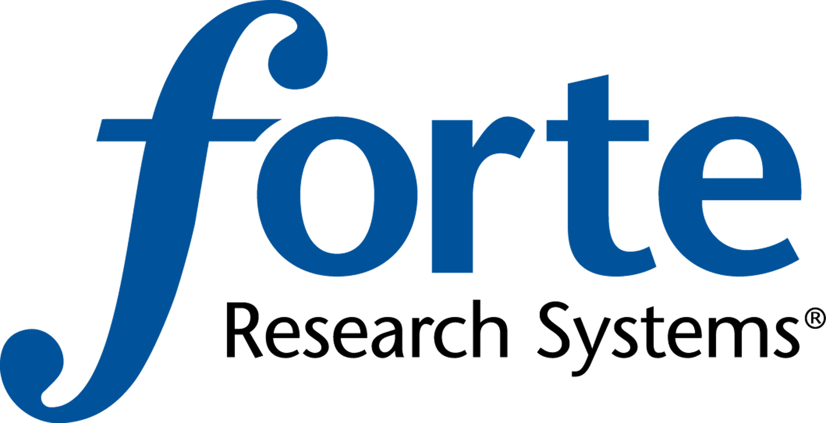 Forte Research Systems logo.