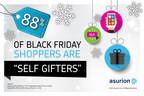 """A recent survey by product protection leader Asurion found 88 percent of those who plan to shop on Black Friday are """"self gifters."""" This trend may be because data also shows every day accidents can eat up those savings and leave gifts useless in less than a year - nearly a third of items bought last Black Friday have broken. Find tips on protecting purchases and reducing other holiday stress at http://blog.asurion.com/tag/holiday-2014/"""
