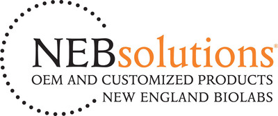 NEB solutions logo.  (PRNewsFoto/New England Biolabs)