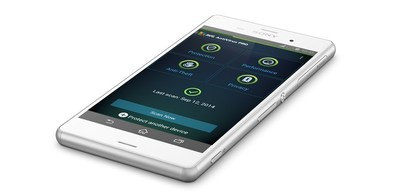 AVG AntiVirus PRO for Android(TM) app on Sony Mobile Xperia(TM) device (PRNewsFoto/AVG Technologies N.V.)