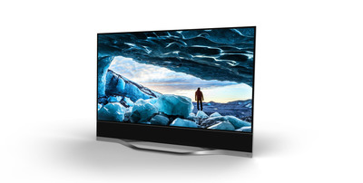 "Highlighted by Larger-Than-Life 120"", Reference Collection Offers Unprecedented Picture Quality, VM50 Ultra-HD Engine for Enhanced Motion and Picture Processing, Integrated 5.1 Sound, Premium Design and Powerful Performance, New Collection Shatters Expectations to Redefine Best-In-Class.  (PRNewsFoto/VIZIO, Inc.)"