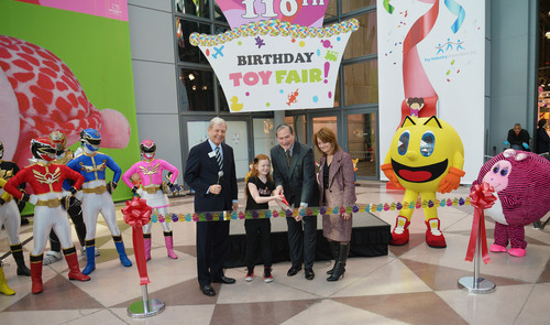 110th American International Toy Fair Transforms NYC into Massive Playground.  (PRNewsFoto/Toy Industry Association)