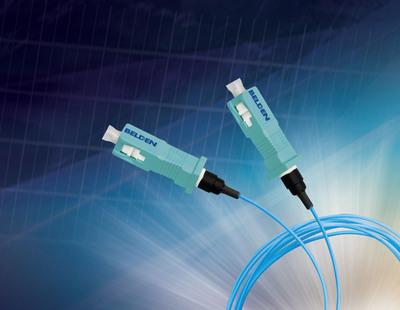 Belden FiberExpress Brilliance Connectors. (PRNewsFoto/Belden)