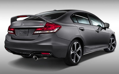 The new Honda Civic is among the popular vehicles to lease. (PRNewsFoto/Honda of Burien)