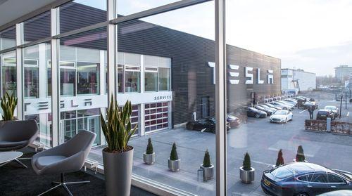 Tesla Zuid-Oost Service Entrance (PRNewsFoto/Tesla Motors Inc)