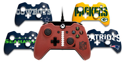 The NFL FaceOff Controller for Xbox One from PDP with swappable face plates for all NFL teams.