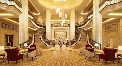 Reception Hall (lobby) at The St. Regis Abu Dhabi (PRNewsFoto/The St Regis Abu Dhabi) (PRNewsFoto/The St Regis ...