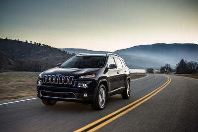 All-new 2014 Jeep Cherokee Limited.  (PRNewsFoto/Chrysler Group LLC)