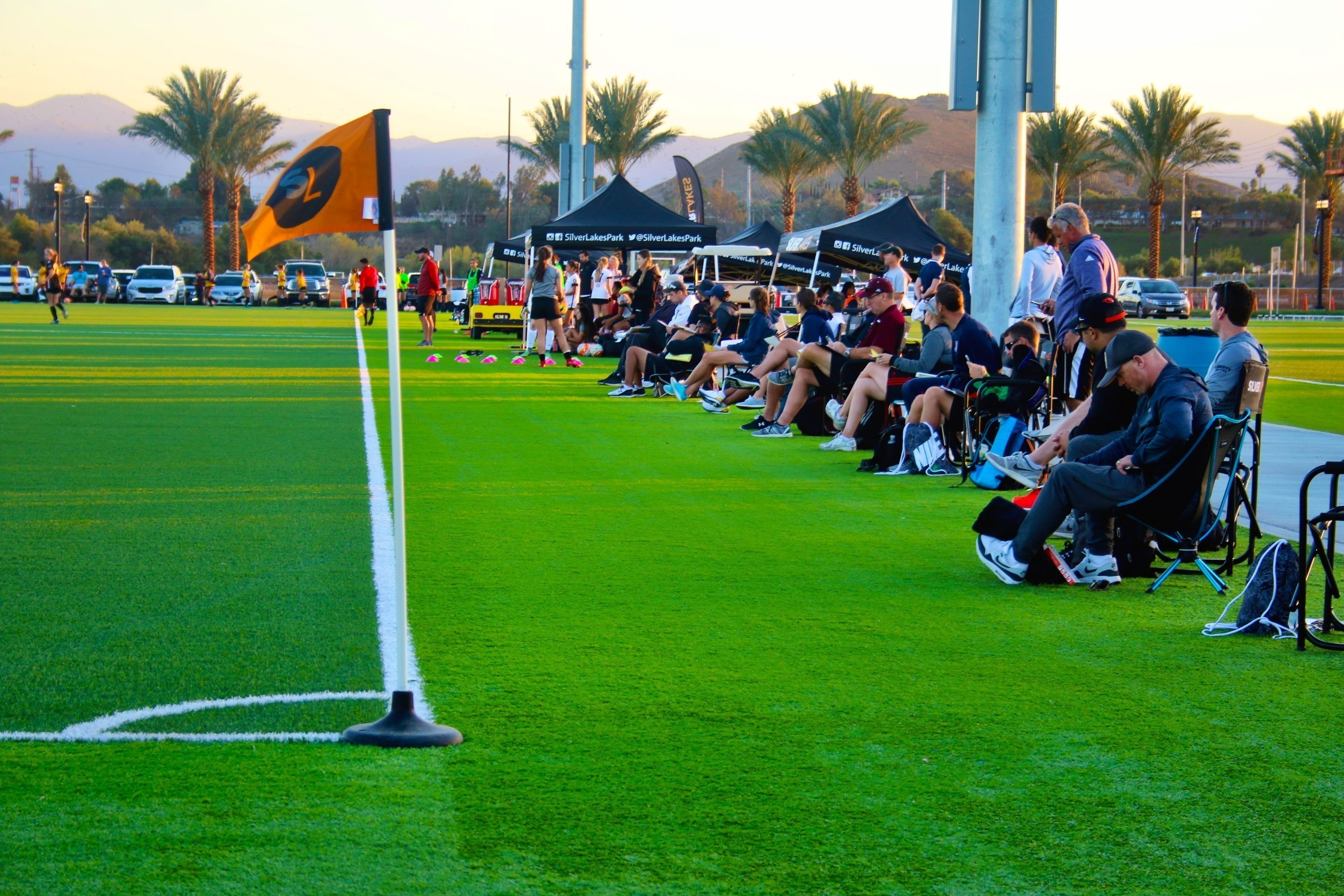 Over 250 college coaches attended the first annual SilverLakes College Showcase event.  The participation by high-level coaches throughout the country included among others, Stanford, Texas A&M, Cornell, North Western, UCLA, and Cal Berkeley.