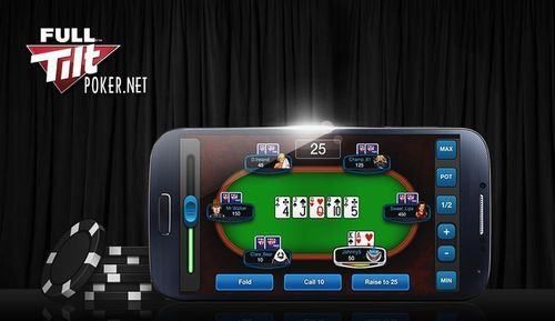 Get the World's Most Exciting Poker Game on Your Mobile (PRNewsFoto/Full Tilt Poker)