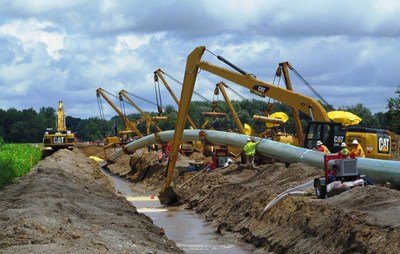 Consumers Energy Southwest Michigan Pipeline Starts Operations (PRNewsFoto/Consumers Energy)